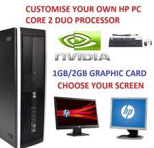 HP GAMING PC FAST DESKTOP 1TB 8GB COMPUTER TOWER WINDOWS 10 NEW GFX HDMI