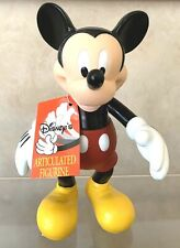 Disney Theme Parks 7� Mickey Mouse Articulated Figure Disneyland Souvenir