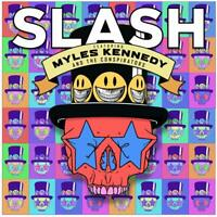 SLASH FT MYLES KENNEDY AND THE CONSPIRATORS Living The Dream 2018 CD NEW