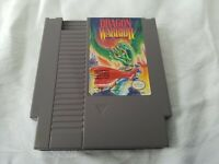 Dragon Warrior Nintendo Entertainment System NES 1989 Authentic Cleaned & Tested