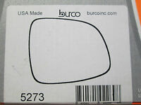 2007-2012 SUZUKI SX4 FITS RIGHT PASSENGER SIDE BURCO MIRROR GLASS # 5273