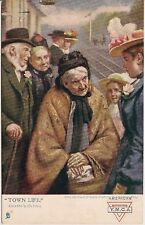 """""""Granny's Outing"""" Raphael Tuck Town Life Series Postcard"""