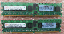 Hynix 2GB Kit (2 x 1GB) HYMP512P72BP4-Y5 AB-A PC2-5300P 1RX4 240-Pin Memory