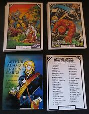 1989 MARVEL ARTHUR ADAMS COMIC IMAGES TRADING CARD SET + HEADER CARD