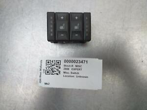 PEUGEOT EXPERT 2008 MK2 HEATED SEAT CONTROL SWITCH  - 3S7T19K314AB