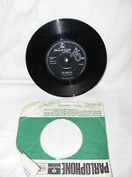 """VINTAGE 1963 PARLOPHONE VINYL THE BEATLES 7"""" RECORD SHE LOVES YOU WITH SLEEVE"""