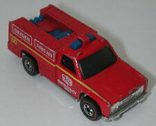 Redline Hotwheels Red 1976 Emergency Squad oc15123