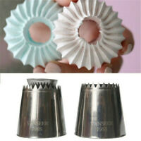 Extra Large Stainless Steel Icing Piping Nozzles Pastry Cake Cream Decors Baking