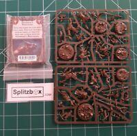 Warhammer Underworlds. Beastgrave . Grashrak's Despoilers models and cards.