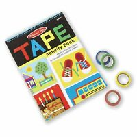 Melissa And Doug Tape Activity Book NEW Toys Kids