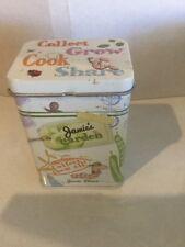 Woolworths Jamie Oliver Garden Tin (no Stickers)