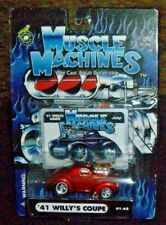Muscle Machines Die Cast Collectible '41 Willy's Coupe - 2001 Funline Merchandis