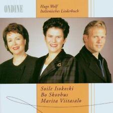 Italienisches Liederbuch - Isokoski, Skovhus, Viitasalo Double CD (Ondine, 2002)