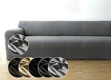 SEHR GUT: Bellboni Couchhusse, Sofabezug für viele gängige 3er Sofas, grau