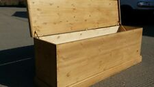 Solid  pine blanket  box fully  assembled.Delivery can be arranged. Free locall