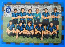 CARTOLINA UFFICIALE CALCIO SQUADRA INTER 1978/79 - cm.15x21