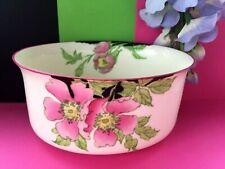 "Art Deco / Vintage Royal Doulton China ""Rosea"" Tea Set Large Oval Sugar Bowl"