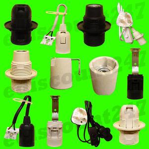 CE CERTIFIED SES E14 Small Edison Light Bulb Socket LED Lamp Holder UK SELLER