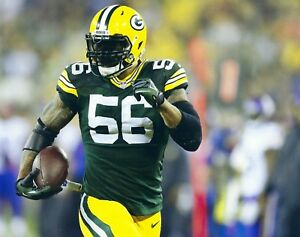 JULIUS PEPPERS 8X10 PHOTO GREEN BAY PACKERS PICTURE NFL