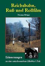 Reichsbahn Ruß und Rollfilm Dampflockzeit DR Eisenbahnfotografie DDR Buch