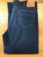 Levi 514 46W 30L Stretch Jeans Shipyard Indigo