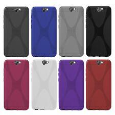 HTC One a9-x-style X-line TPU funda protectora protección, funda, estuche funda bolsa