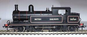 BACHMANN 31-170 L&YR 2-4-2 TANK LOCOMOTIVE 50764 BRITISH RAILWAYS BLACK
