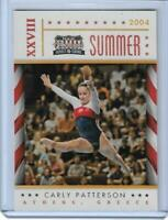 SWEET 2012 PANINI AMERICANA SET CARLY PATTERSON CARD #7 OLYMPIC GYMNASTICS  QNTY