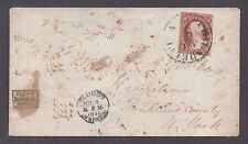 **US Local Stamp Cover, SC# 15L14, Bloods Acid Tied with SC# 11, CV $375.00