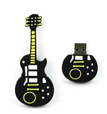 32Gb Yellow Black Guitar USB Drive Memory Stick Flash Drive Novelty Gift