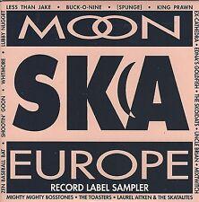 MOON SKA EUROPE - LABEL SAMPLER - (new unused cd in a slipcase) - BC MSE 1