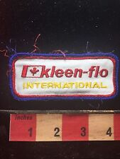 Patch KLEEN-FLO INTERNATIONAL ~ Canada Flag 73H