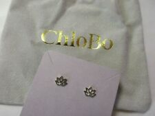 chlobo lotus stud earrings  925 silver