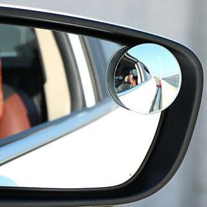 360° Car Blind Spot Side Mirror Stick On Glass Adjustable Safety Lens Universal.