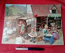 Vintage Camberwick Green - Wooden Jigsaw Puzzle 1966