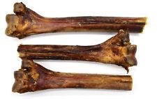 3 x Small/Medium Ostrich Metatarsus Bone. 100% Natural Long Lasting Dog Chew