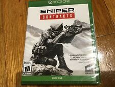 Sniper Ghost Warrior Contracts Xbox One CI Games New Sealed Case 816293015214