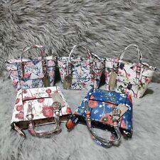 Women handbag fashion color flower pattern shoulder messenger bag bucket bag