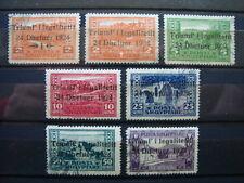 ALBANIA 1925 SERIE COMPLETA USATA N. 104-110 CAT. MICHEL € 86,00
