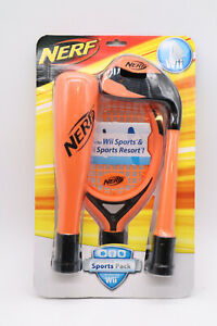 New Nintendo Wii Nerf Sports Plus Sports Pack Controller Attachments Sealed