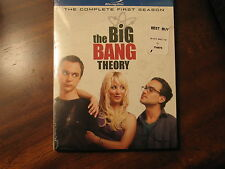 The Big Bang Theory, The Complete First Season, Blu-ray Disc, new and sealed