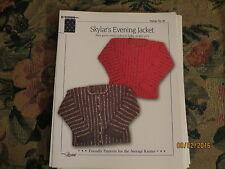 Skylar's EveningJacket # 50  by Louise, (X-S - XXLarge)
