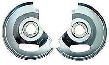 1960-87 Chevy C10 Truck Disc Brakes Dust Shields, Set
