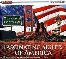 FASCINATING SITES OF AMERICA:SEE AMERICA FROM COAST TO COAST. FAST FREE SHIPPING