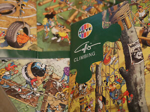 "Heye comic jigsaw puzzle ""Climbing"" by  Giuseppe Calligaro - 1000 pcs Complete"
