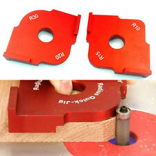 Wood Radius Quick Jig Router Table Corner Template Woodworking R10 R15 + R20 R30