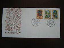 Australien - Weihnachten 1989, Brief mit MiNr. 1177 - 1179, Erstausgabe