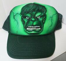 Hulk Avengers Curved Bill Trucker Snap Back Baseball Cap Hat Mesh Decky One Size