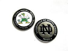 NCAA Notre Dame Irish Golf Ball Marker Enamel Metal Team Logo 2 Sided Hat