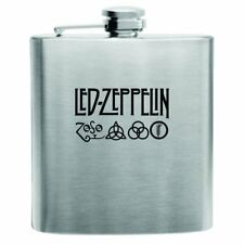 Led Zeppelin Stainless Steel Hip Flask 6oz